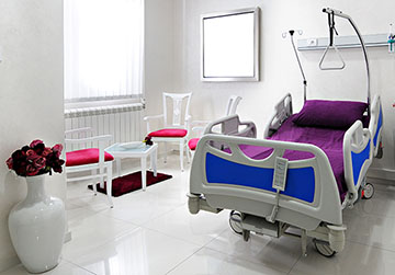 Environmental Software Hospital Room